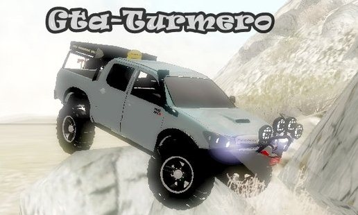 GTA: San Andreas Addon -	Toyota Hilux 2011 Off Road 4x4 screenshot 1