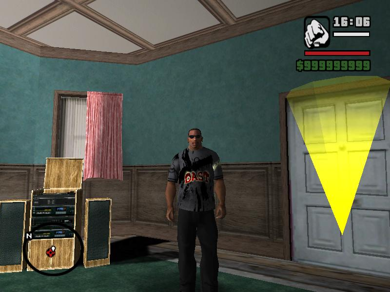 GTA: San Andreas Addon - Dast Tshirt screenshot 1