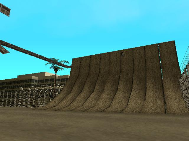 GTA: San Andreas Addon - Stunt Airport screenshot 2