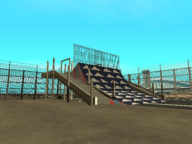 GTA: San Andreas Addon - Stunt Airport screenshot 3