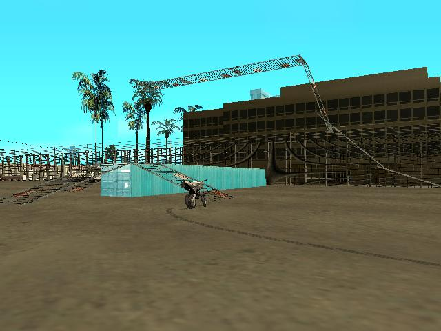 GTA: San Andreas Addon - Stunt Airport screenshot 4