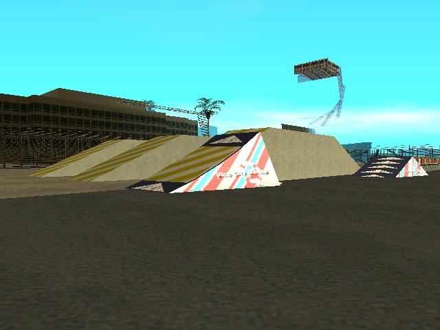 GTA: San Andreas Addon - Stunt Airport screenshot 5