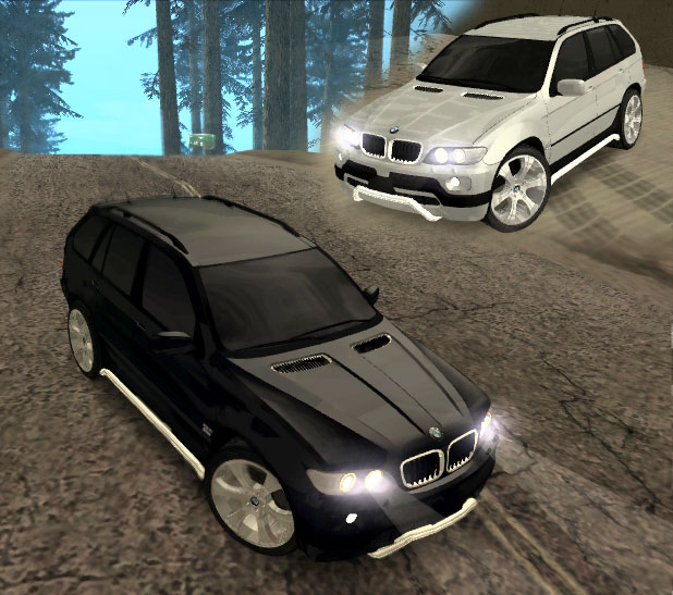Screenshot 1 of gta san andreas addon bmw x5