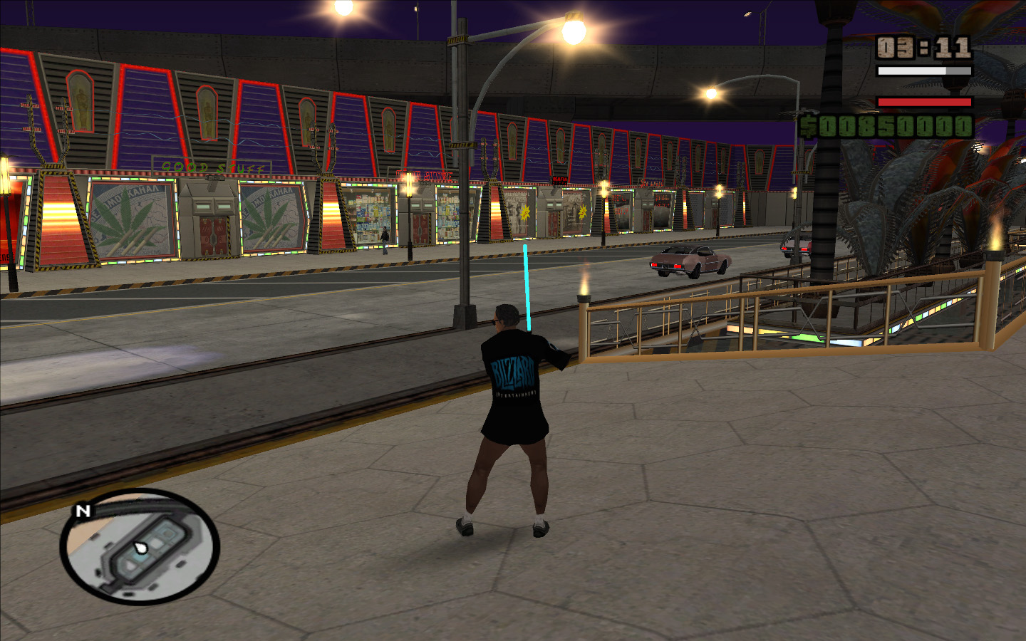 Screenshot 4 of gta san andreas addon star craft2 t shirt