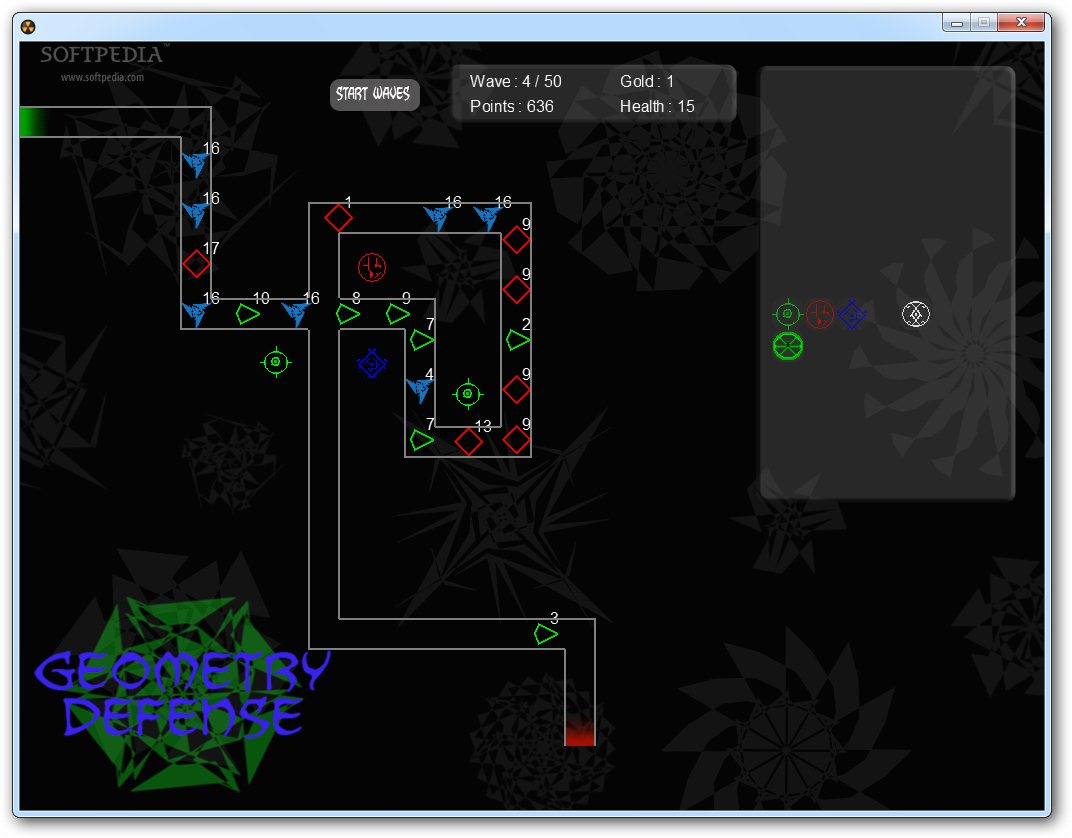GeometryDefense screenshot 4