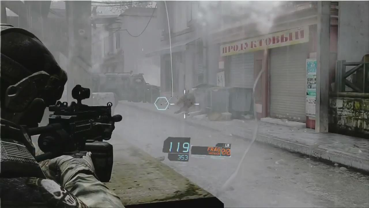 Ghost Recon: Future Soldier: Gunnar Glasses Trailer screenshot 8