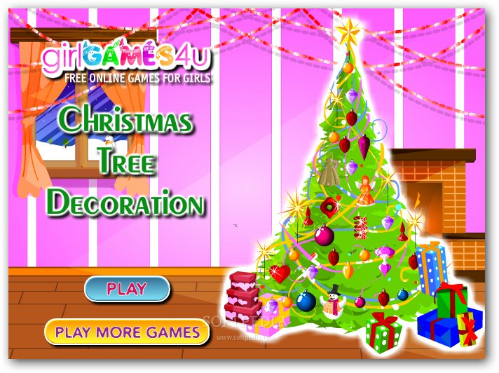 Christmas tree decorations games free decorating
