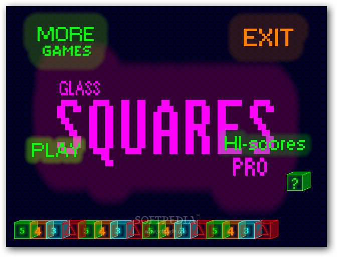 Glass Squares Pro screenshot 1