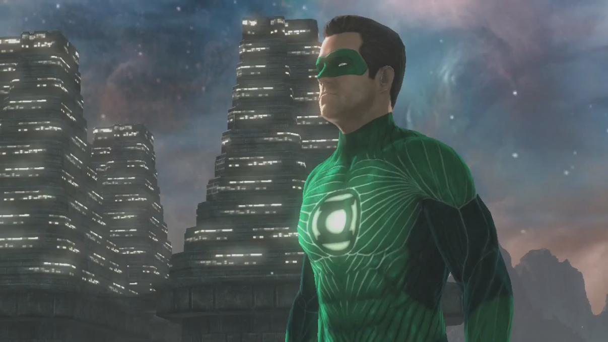 Screenshot 2 of green lantern rise of the manhunters launch trailer
