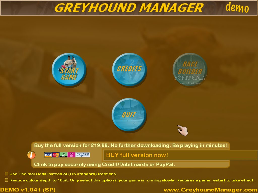 Greyhound Manager screenshot 1