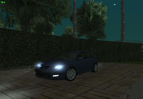 GTA: San Andreas Addon - Mazda Speed 3 screenshot 1