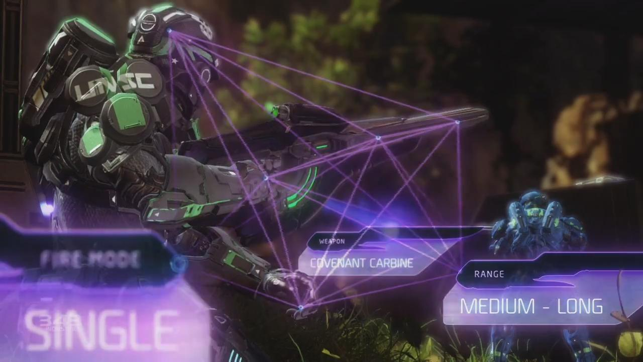 Halo 4: Covenant Weapons Trailer screenshot 3