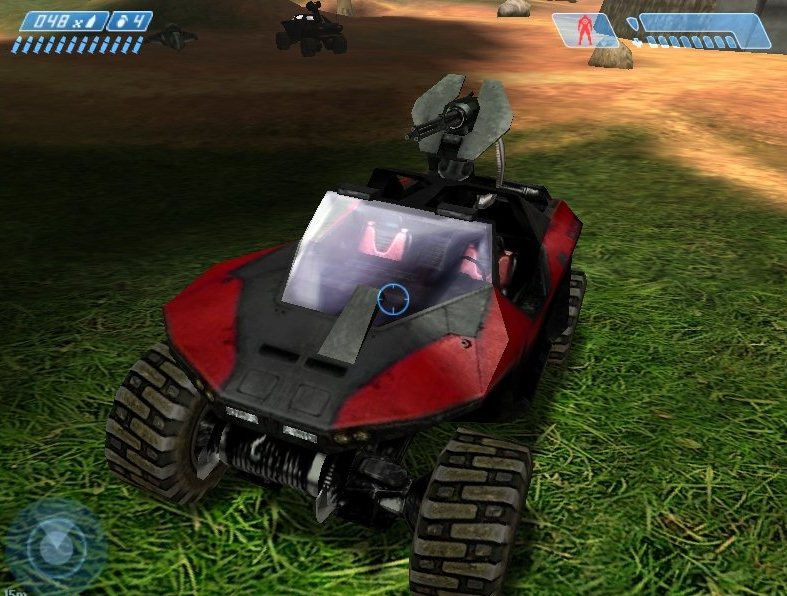 Halo: Combat Evolved Addon - Red and black Warthog screenshot 1