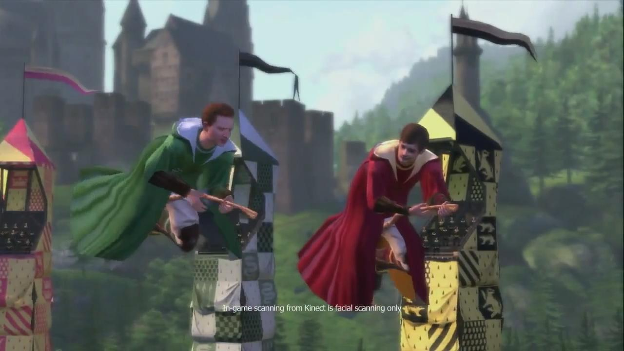 Harry Potter for Kinect: Launch Trailer screenshot 3
