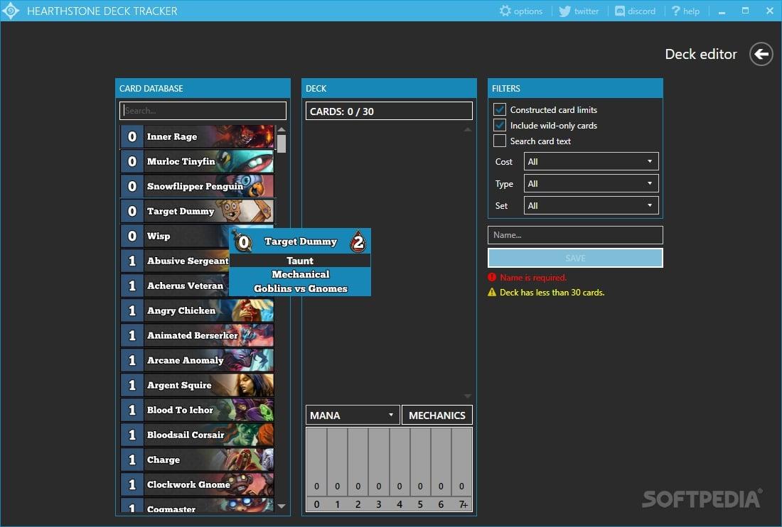 Hearthstone Deck Tracker Download