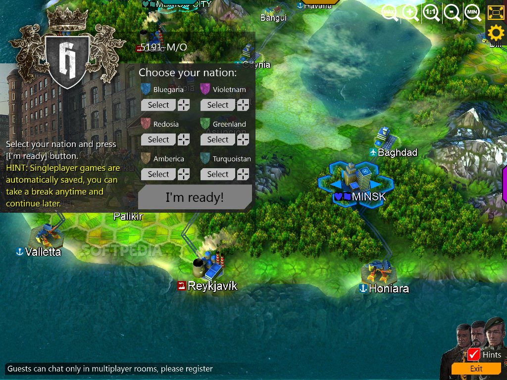 hex empire full screen