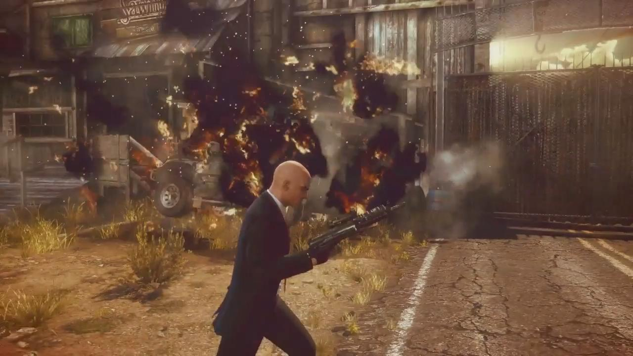 Hitman Absolution: Introducing: Agent 47 Trailer screenshot 16