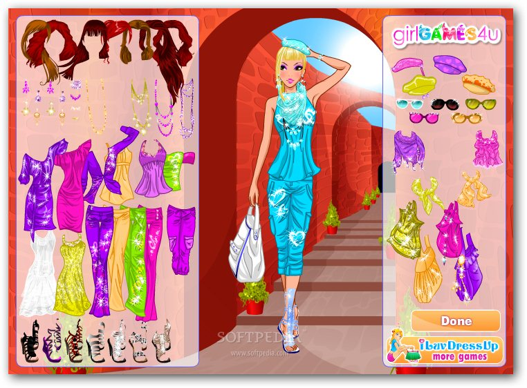 dress up fashion games