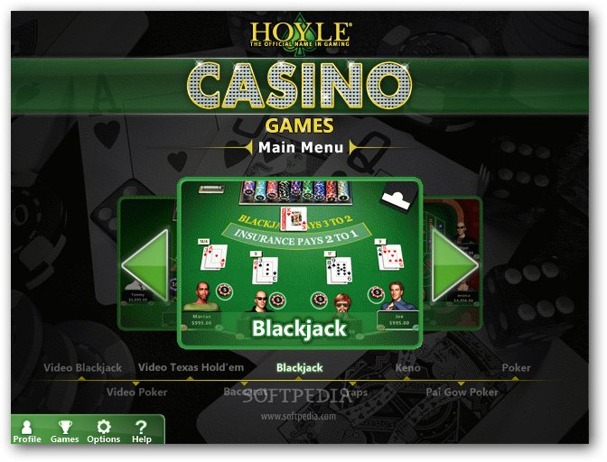 free casino games windows xp