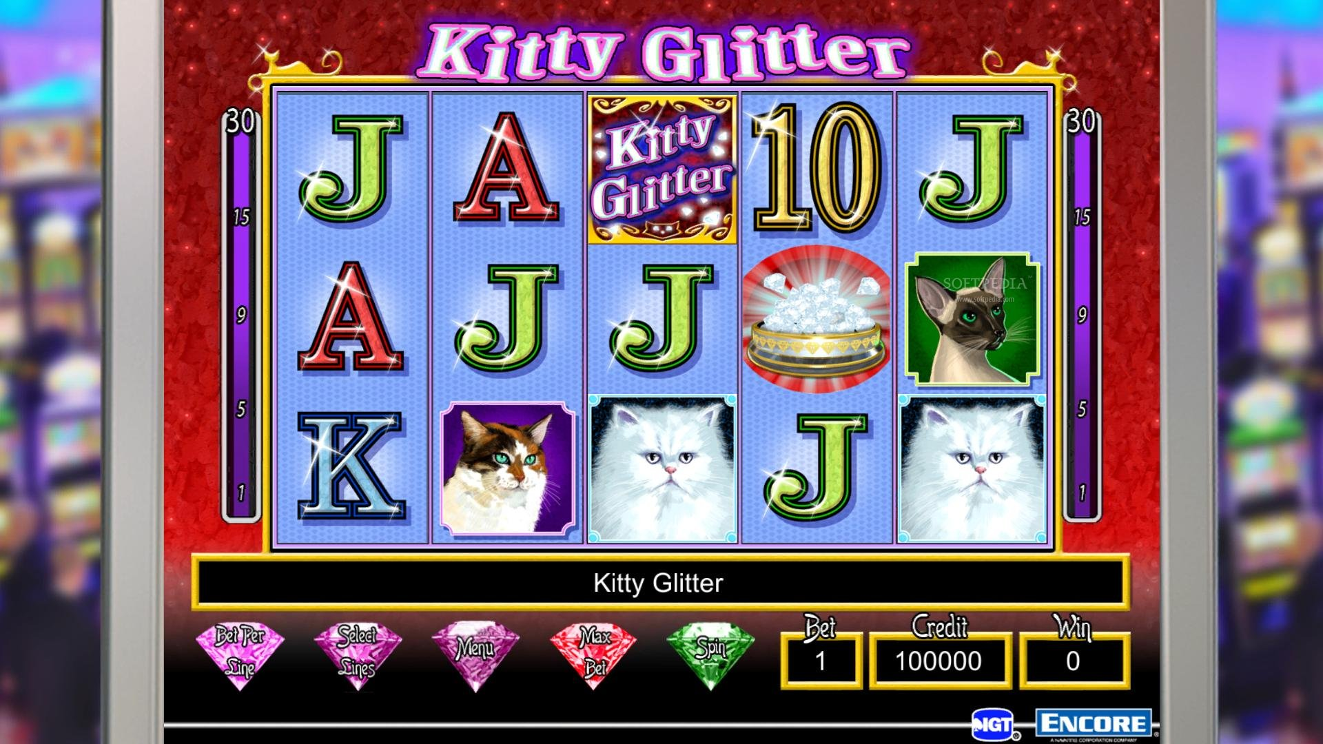 Kitty Glitter Slot Game - Play Free IGT Slot Machines Online
