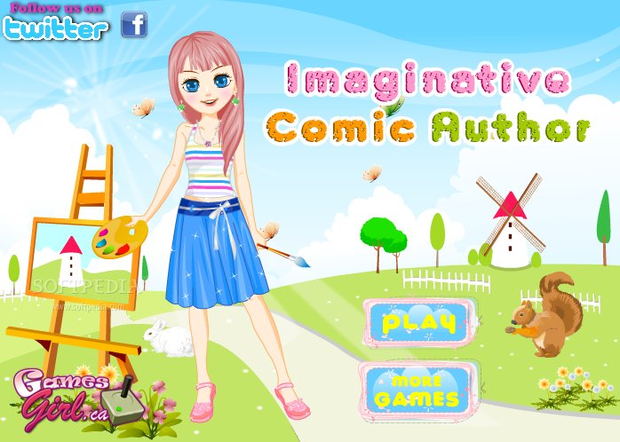 Imaginative Comic Author screenshot 1