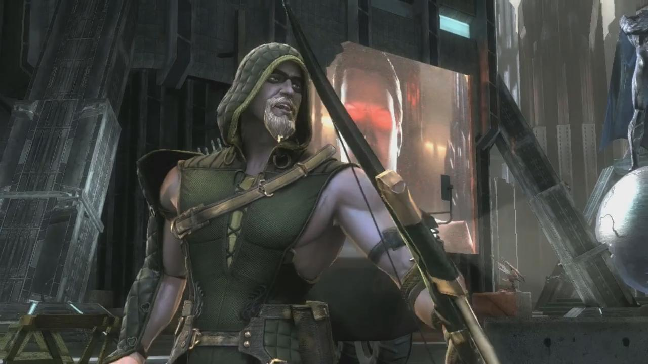 Injustice: Gods Among Us Green Arrow Trailer screenshot 1