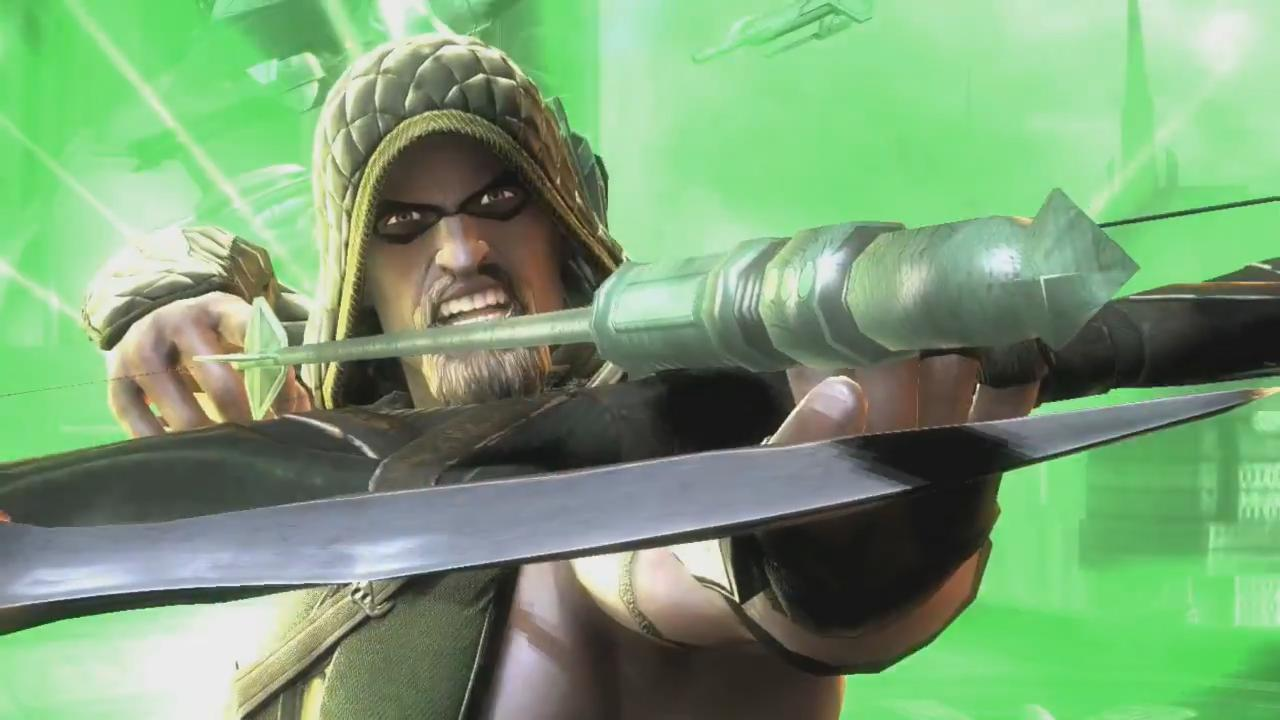 Injustice: Gods Among Us Green Arrow Trailer screenshot 12