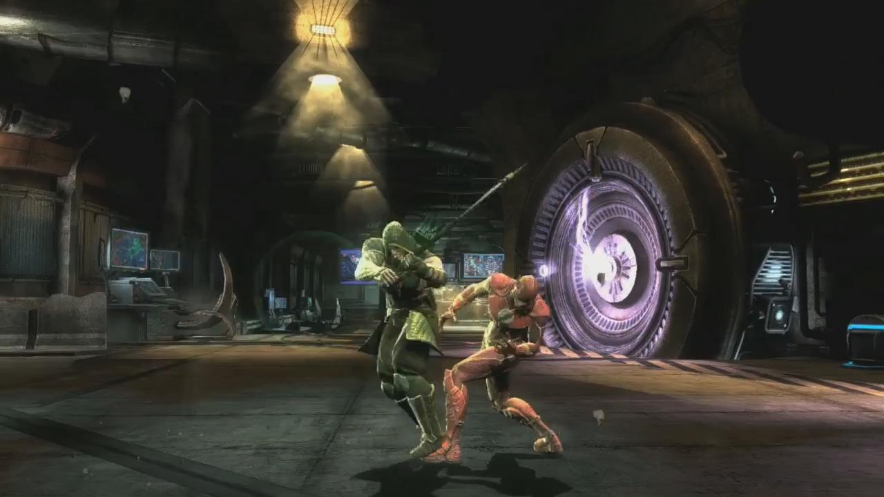 Injustice: Gods Among Us Green Arrow Trailer screenshot 2