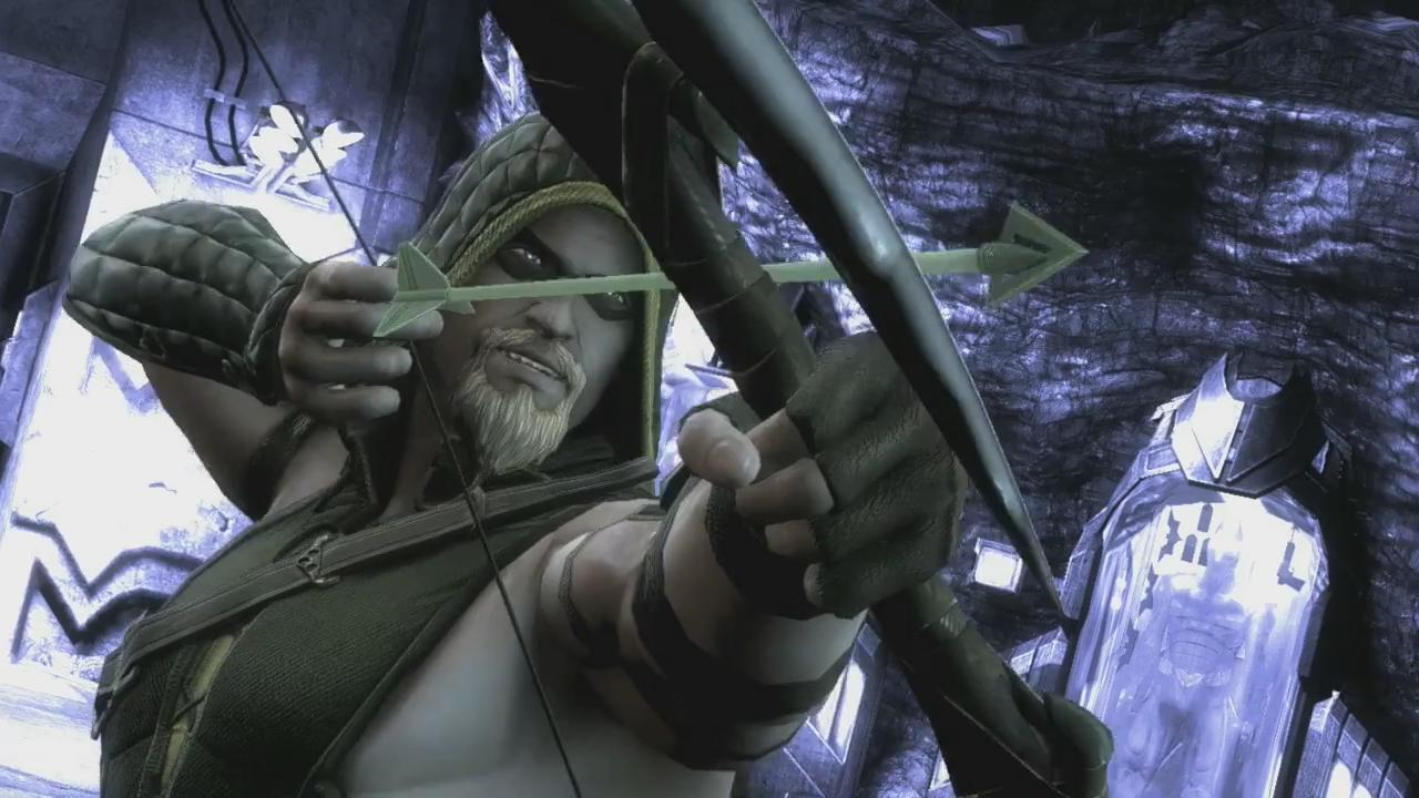 Injustice: Gods Among Us Green Arrow Trailer screenshot 4