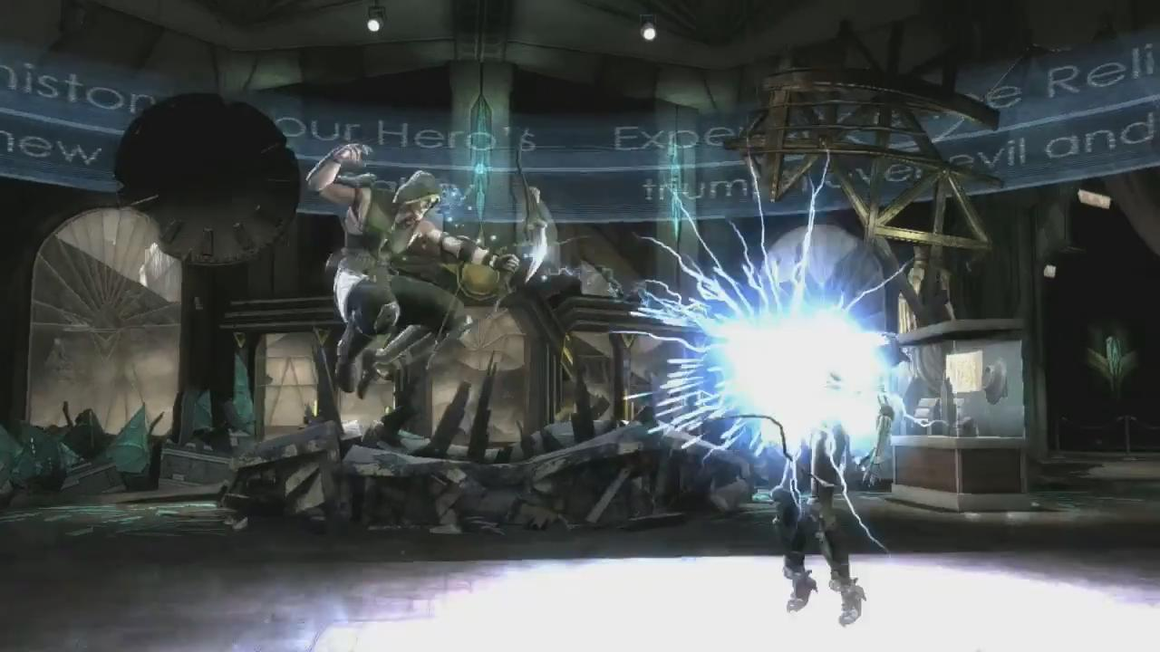 Injustice: Gods Among Us Green Arrow Trailer screenshot 6