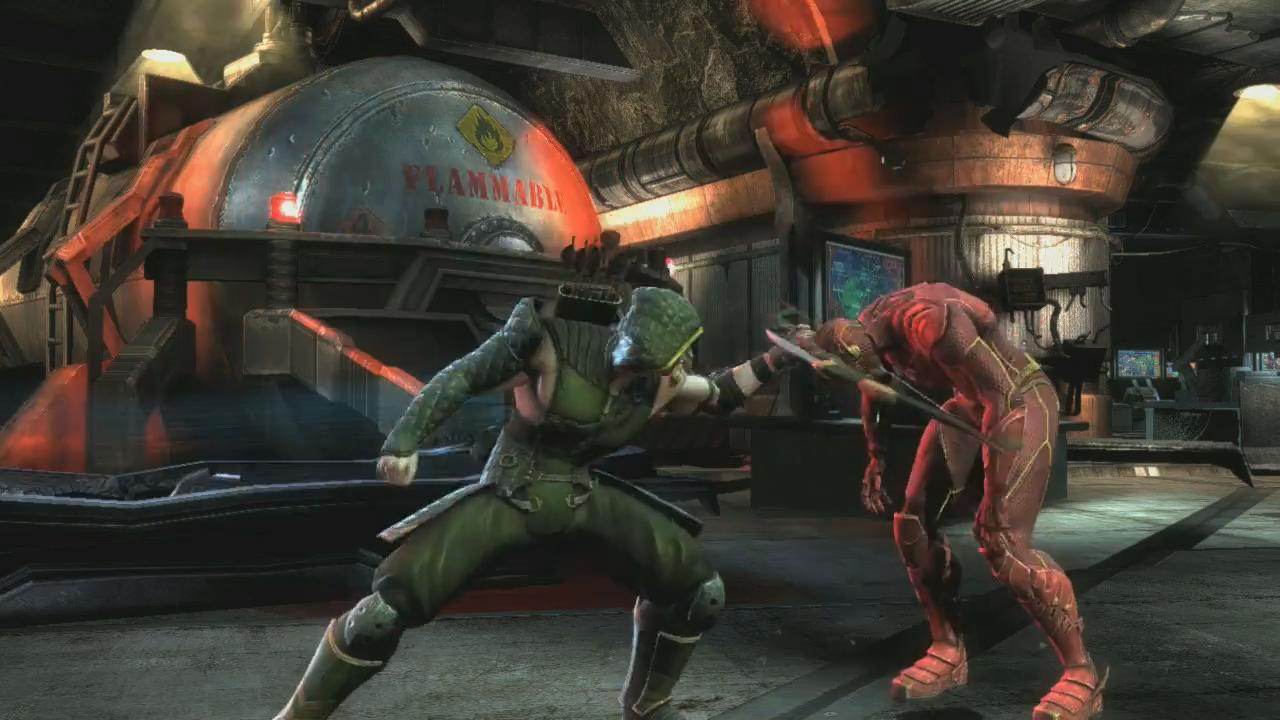 Injustice: Gods Among Us Green Arrow Trailer screenshot 7
