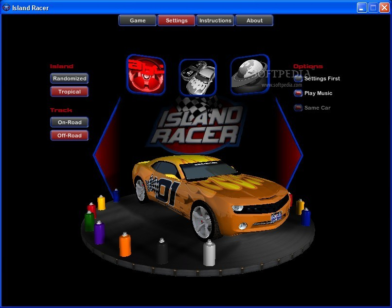 Island Racer screenshot 1