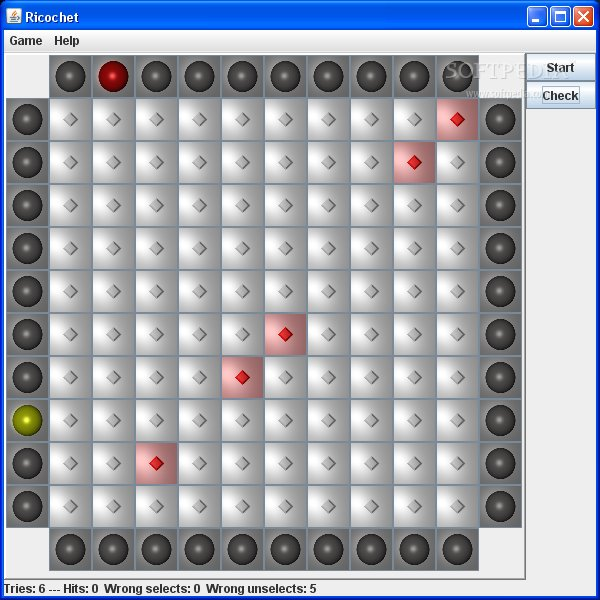 JRicochet screenshot 1