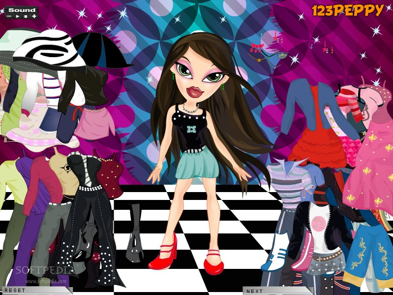 BRATZ DRESS UP MAKE OVER - The Dress Shop