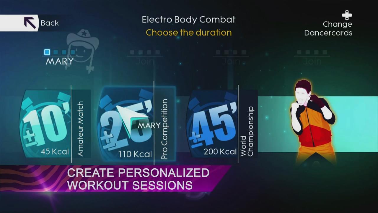 Just Dance 4: Get Fit in 2013 Trailer screenshot 1