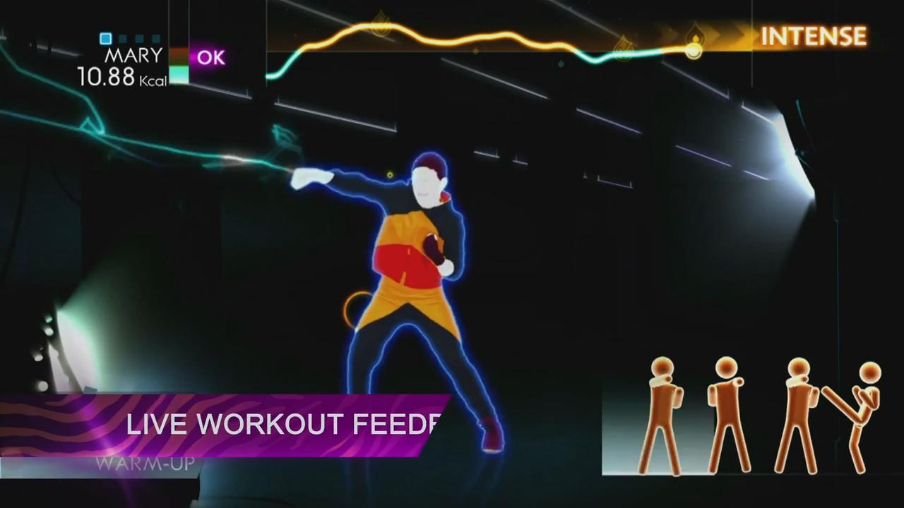 Just Dance 4: Get Fit in 2013 Trailer screenshot 2