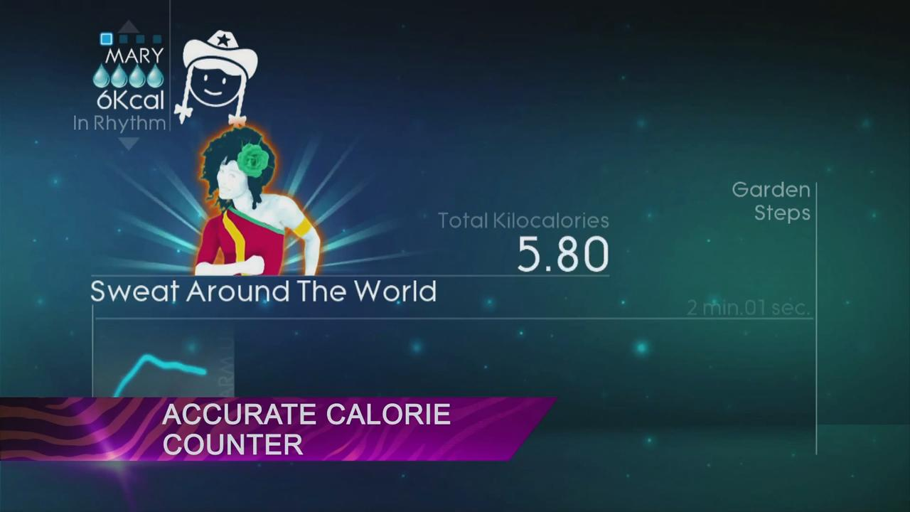 Just Dance 4: Get Fit in 2013 Trailer screenshot 4