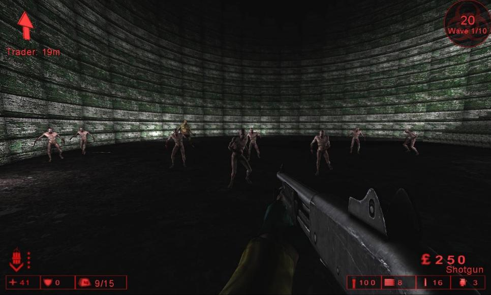 Killing Floor Map - KF-Deathly_Room screenshot 2