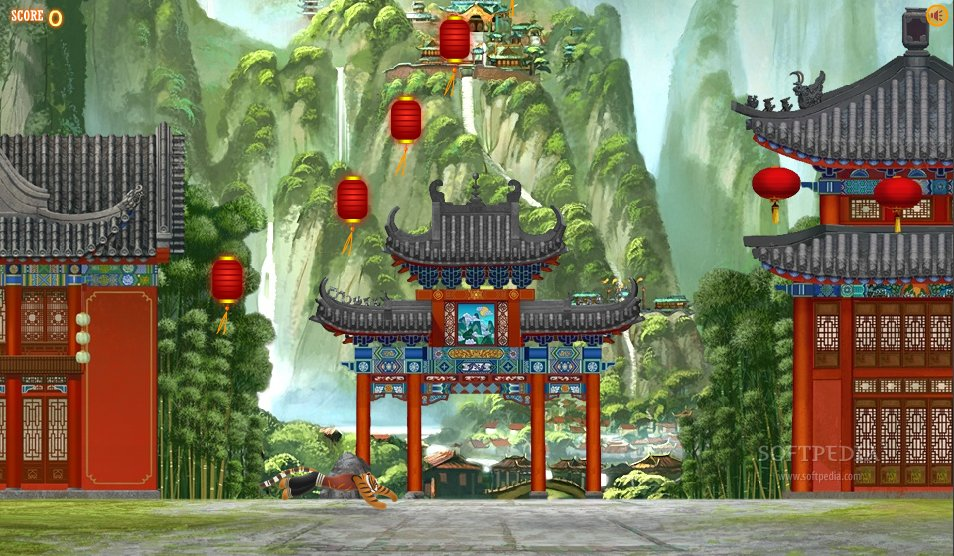 Download Kung Fu Panda World: Tigress Jump
