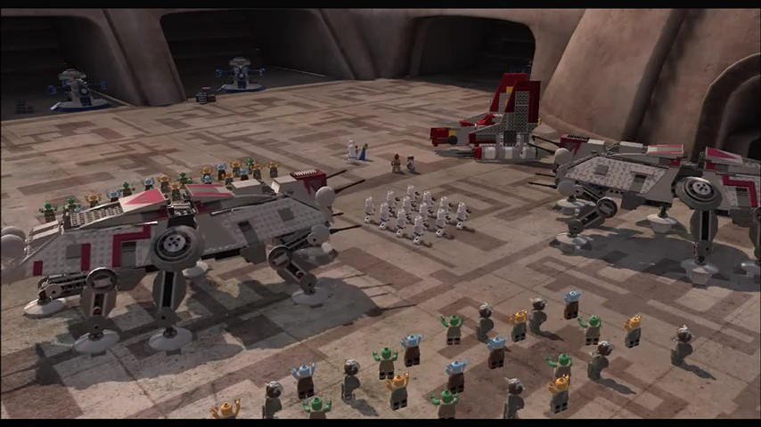 Screenshot 3 of lego star wars iii the clone wars webdoc trailer