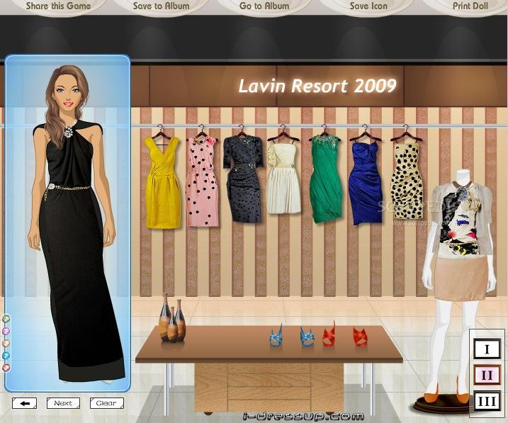 Lanvin Resort 2009 screenshot 1
