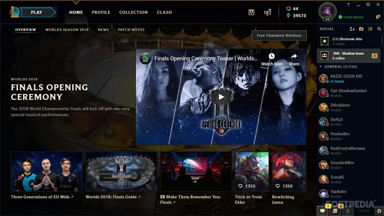 League of Legends - Public Beta Environment Download