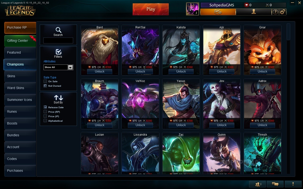 League of Legends Client Download
