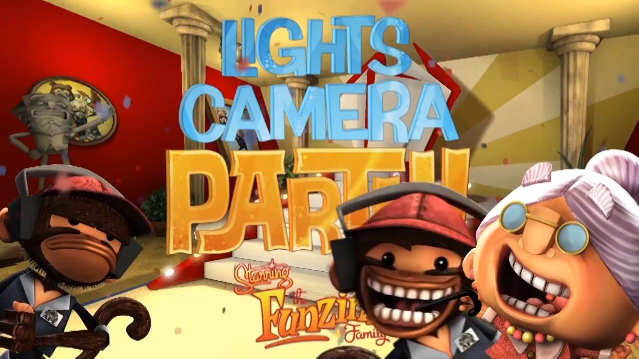 Lights, Camera, Party!: Announcement Trailer screenshot 1
