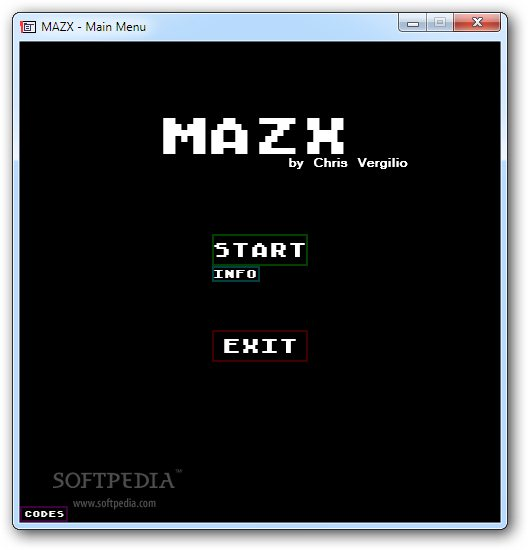 MAZX screenshot 1