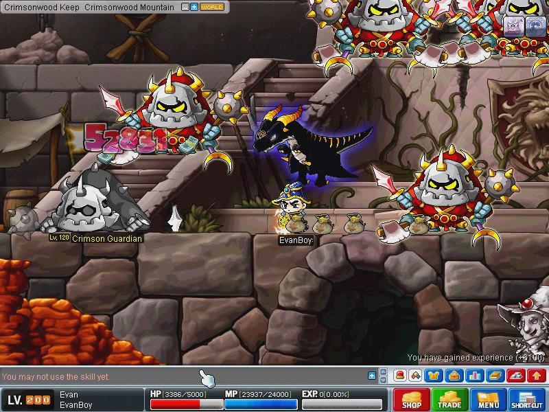 MapleStory-Dragon-Master-Evan-Live-Trailer_2 When you are getting ability points, put 3 points into strength and 2 into dexterity