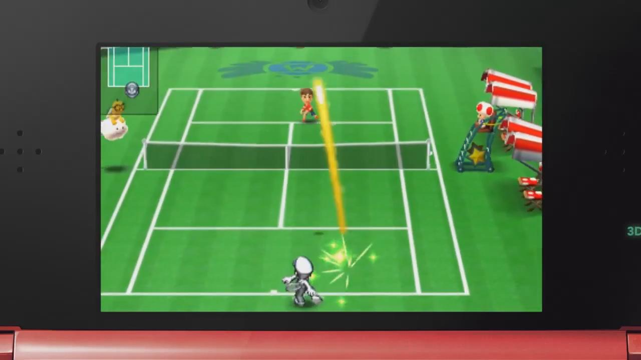 Mario Tennis Open: Metal Mario Trailer screenshot 3