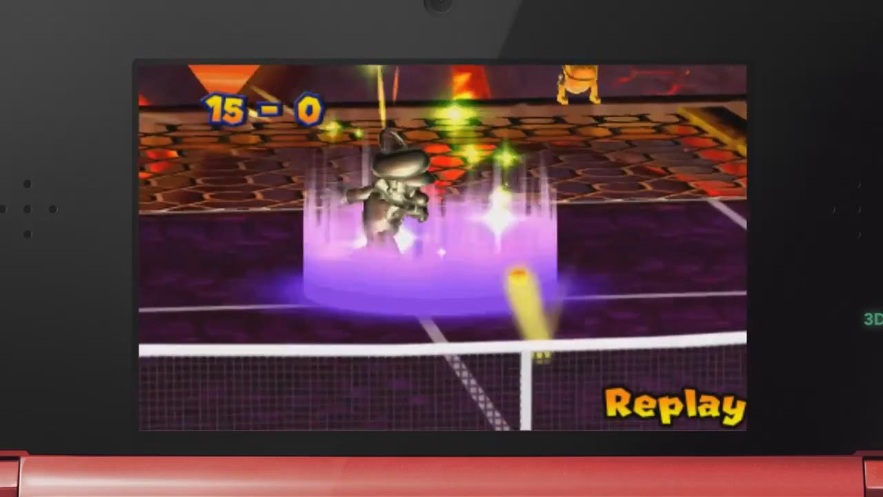 Mario Tennis Open: Metal Mario Trailer screenshot 4