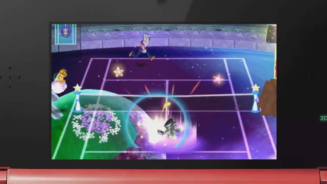 Mario Tennis Open: Metal Mario Trailer screenshot 5