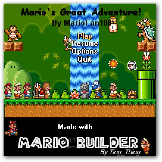 Mario's Great Adventure screenshot 1